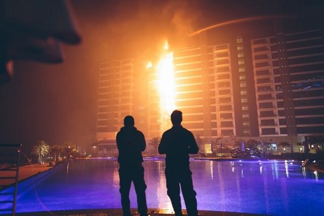 Coffee machine clue to Palm Jumeirah fire