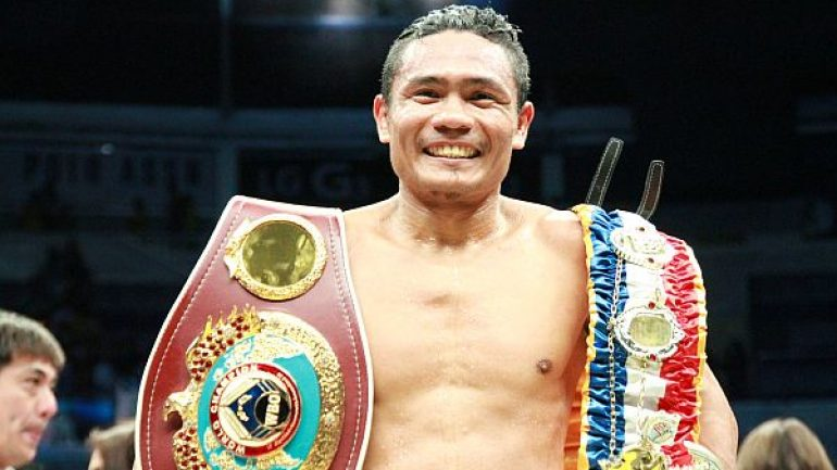 Pinoy boxing champ eyes IBF flyweight belt