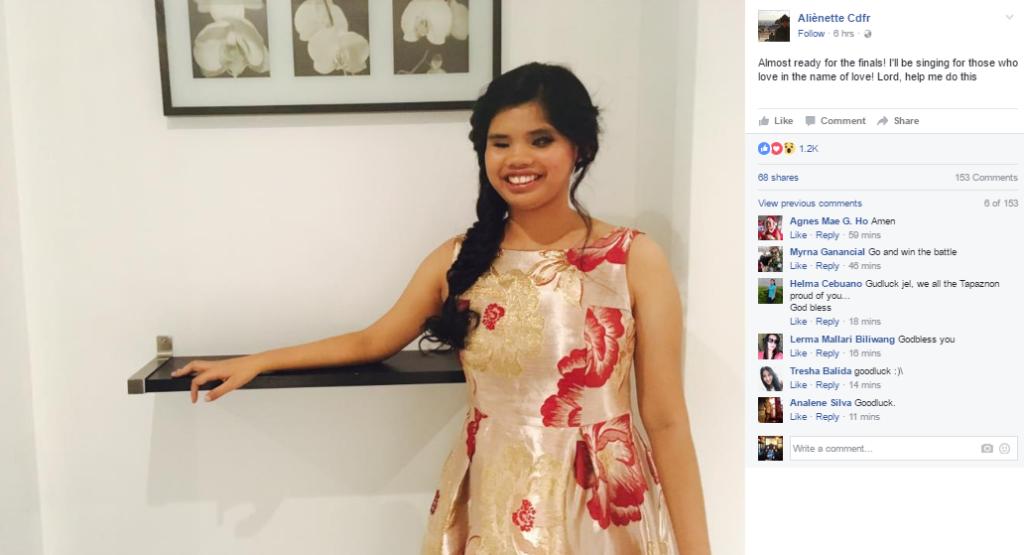 Blind Filipina singer finishes 3rd in 'France Got Talent'