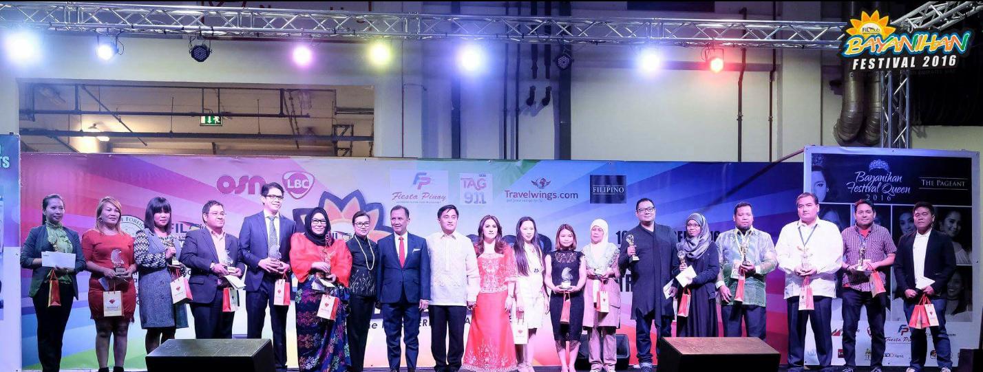Pinoy role models honored at Bayanihan 2016
