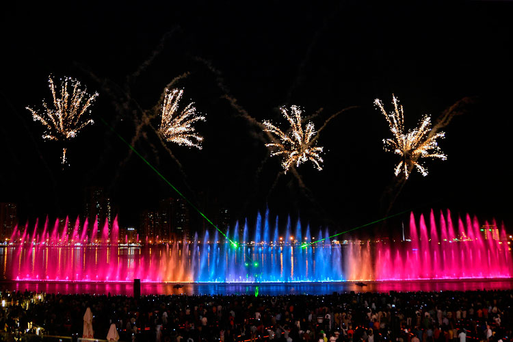 Tens of thousands Sharjah residents set to witness fireworks