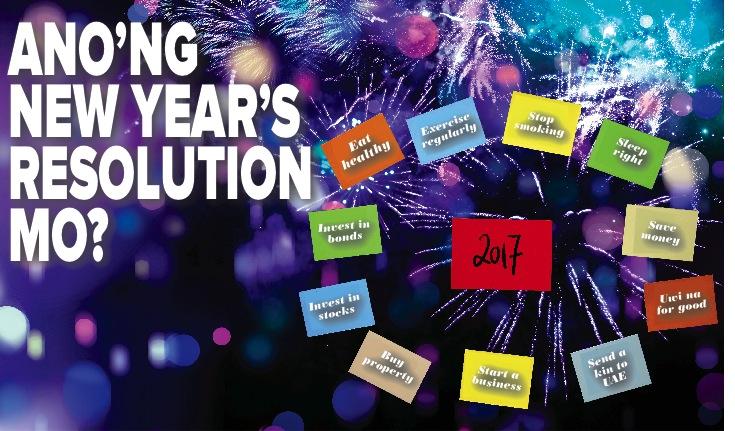 Ano'ng New Year's Resolution Mo?