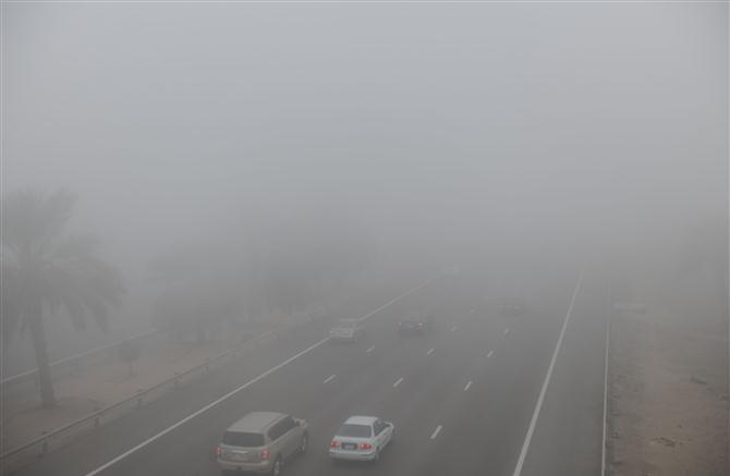 Fog alert issued in some parts of UAE
