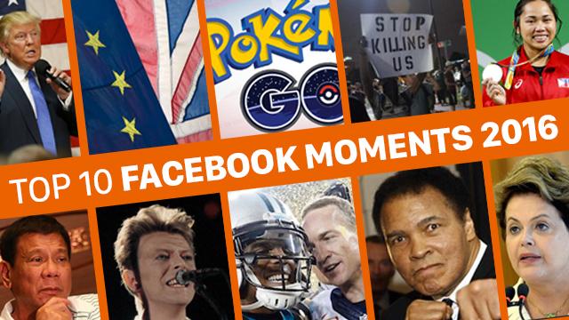 Duterte 5th most discussed on Facebook