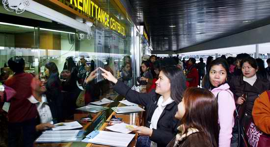 OFWs remittances from Gulf, US hit Dh89.05 B