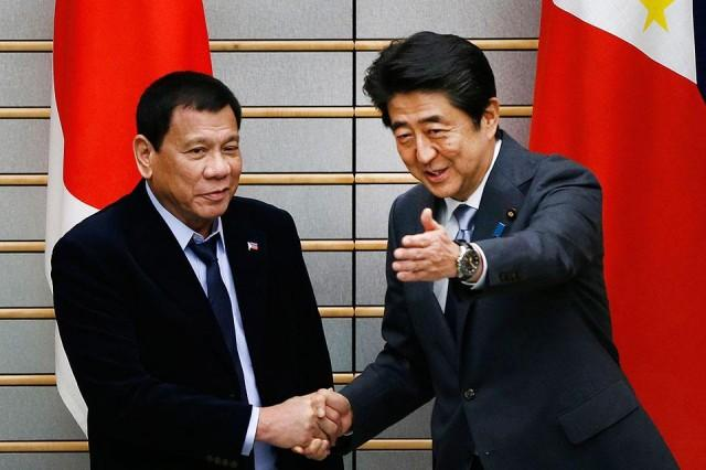 Japanese PM to visit Duterte's house