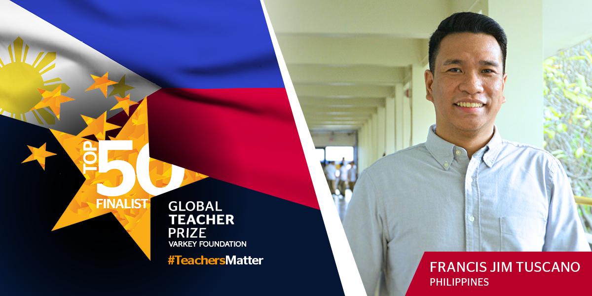Filipino educator among top 50 finalists of Global Teacher Prize