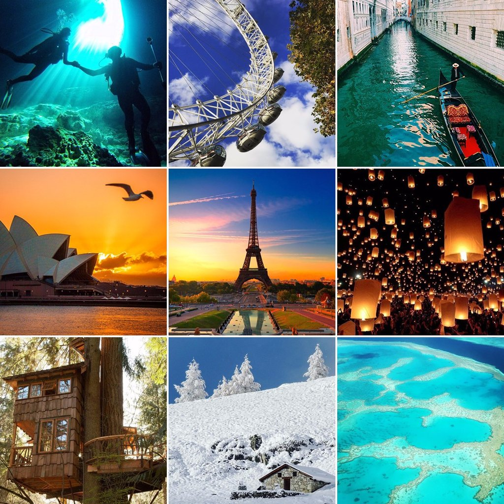 The Ultimate Couple's Travel Bucket List
