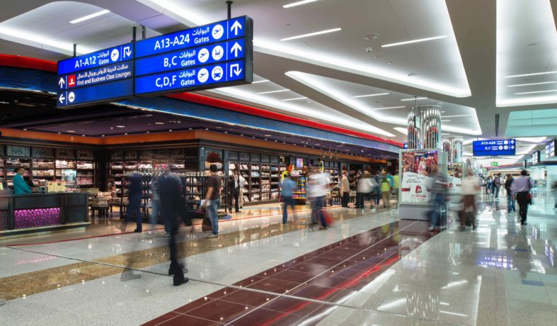 louboutin dubai airport