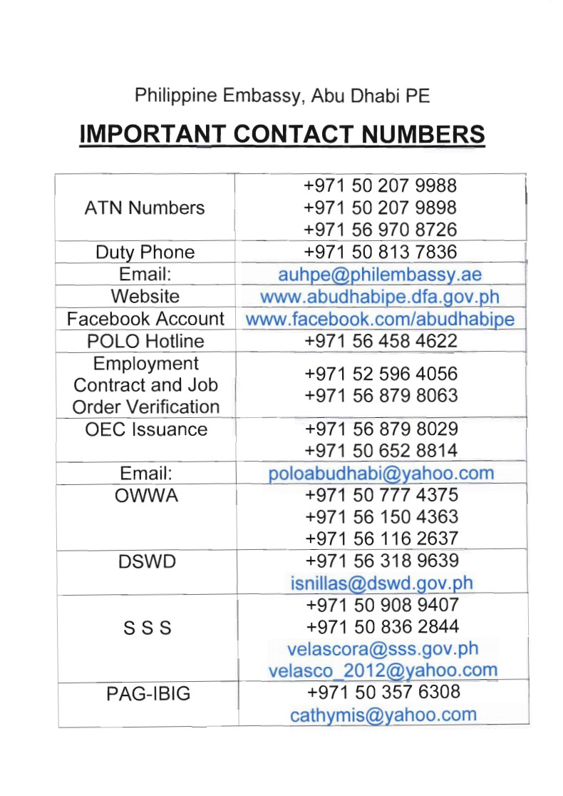 Want to know why your phone calls are taking long at the Ph Embassy?