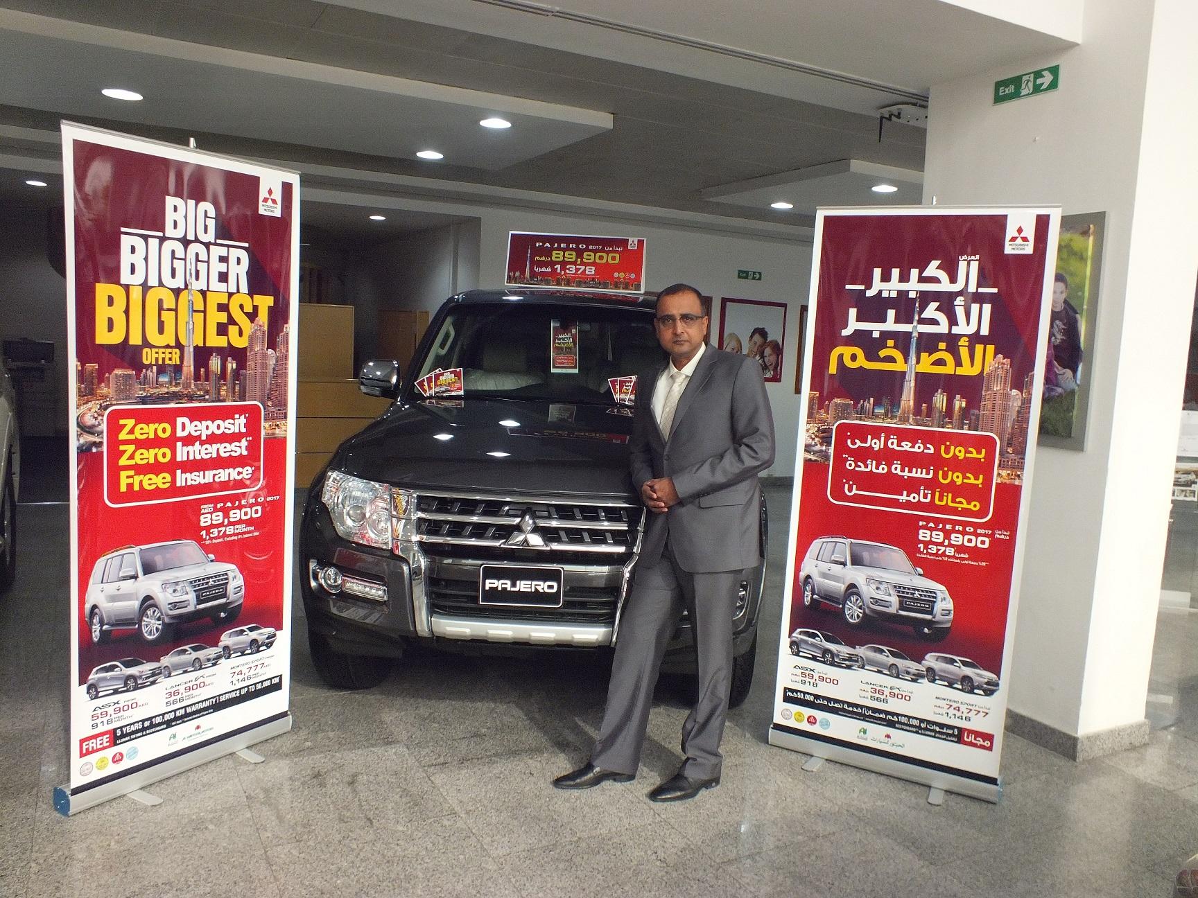 """Al Habtoor Motors launches the new """"Big Bigger Biggest"""" offer"""
