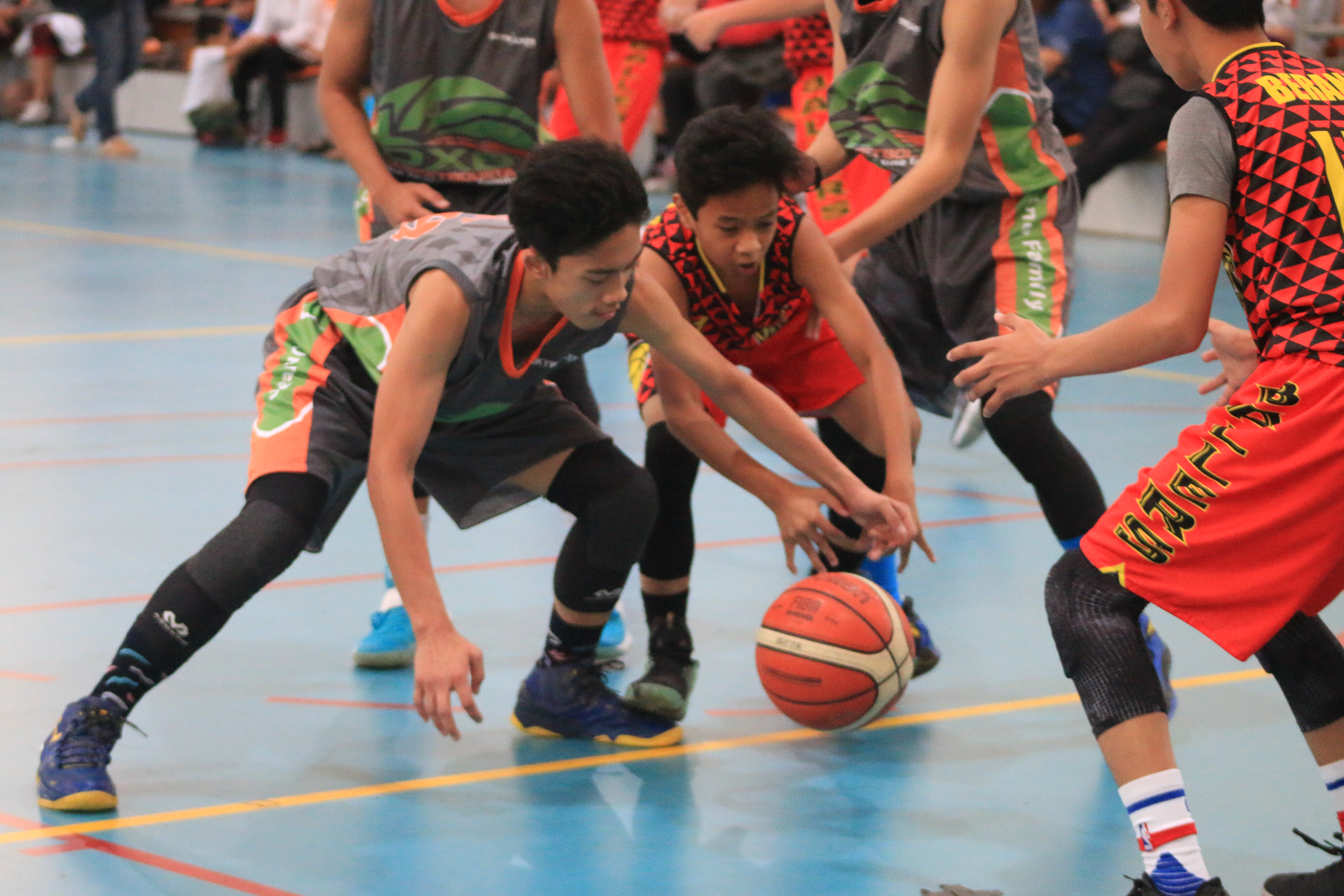 RVV Ballers shreds DXB Basketbolista, 49-32