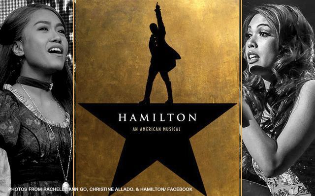 Rachelle Ann plays lead role in Hamilton musical
