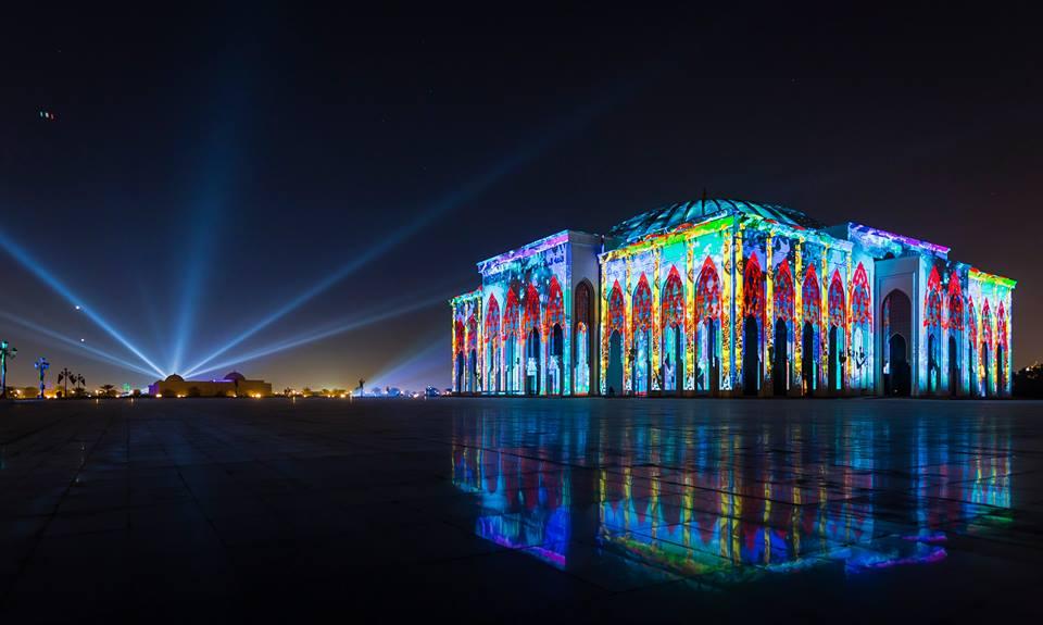 Light Festival begins in Sharjah