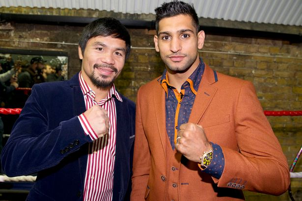 LOOK: Pacquiao, Khan reach deal for April 23 fight