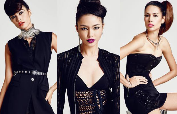 Three Filipina models vie to win Asia's Next Top Model