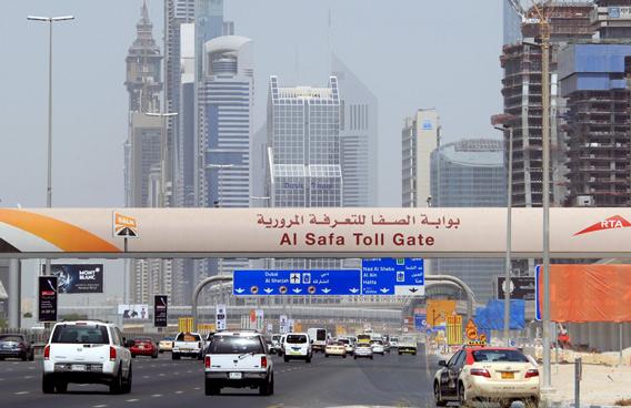 RTA separates Dubai's Al Barsha, Al Safa toll gates link