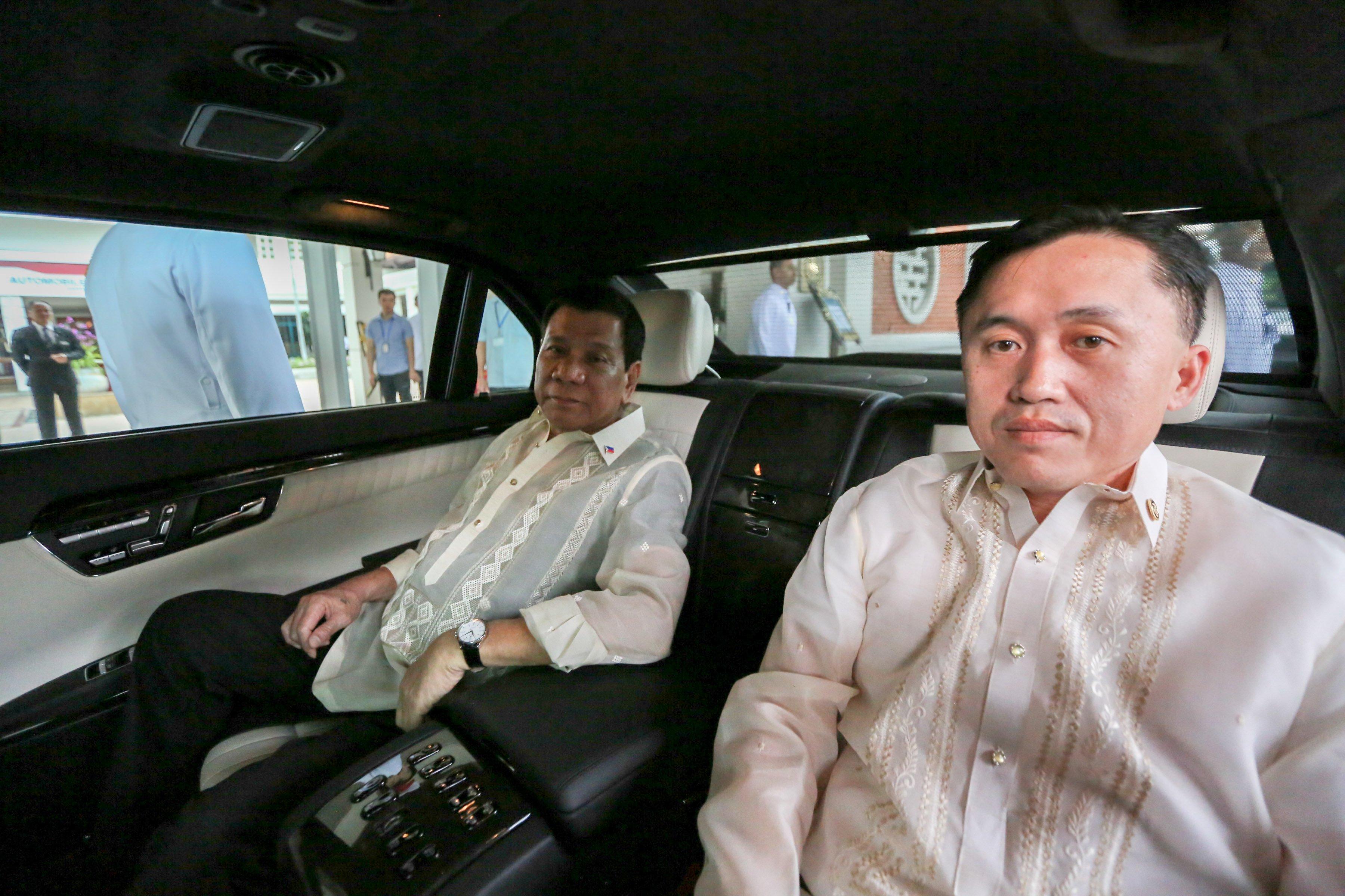 Duterte to auction off luxury car