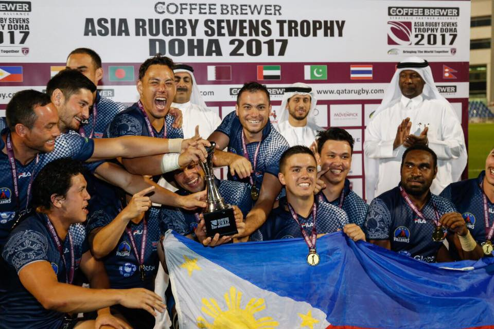 Volcanoes dominate Doha rugby tilt