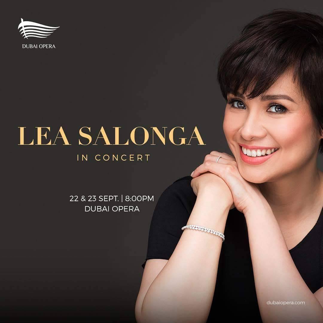 Lea Salonga is coming to Dubai for a 2-night concert