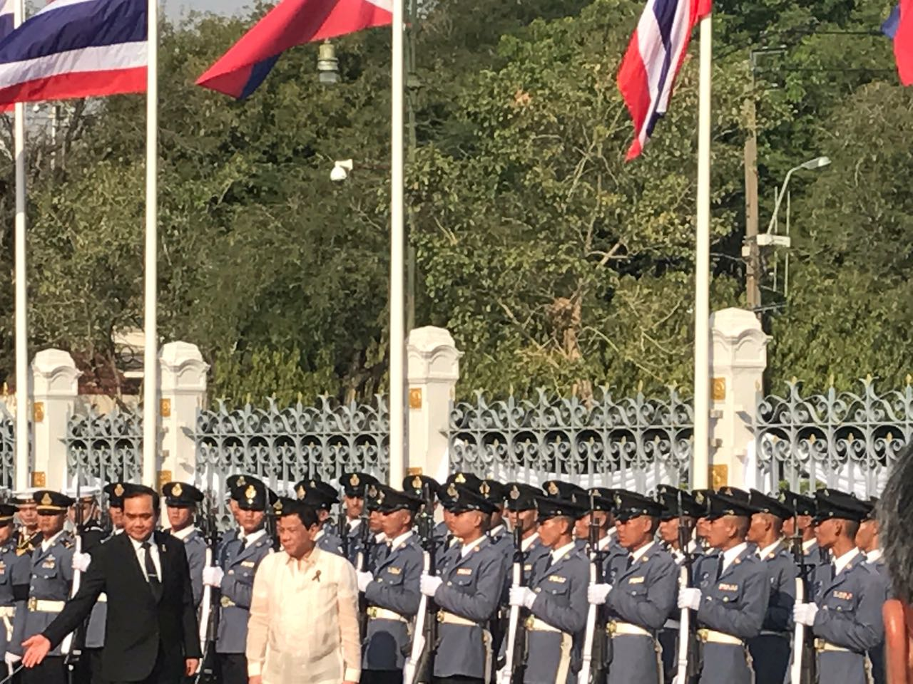 Duterte to witness the signing of 3 bilateral agreements in Thailand
