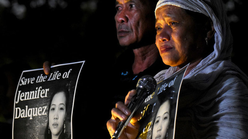 British Lord urges UAE govt to save Filipina from death row