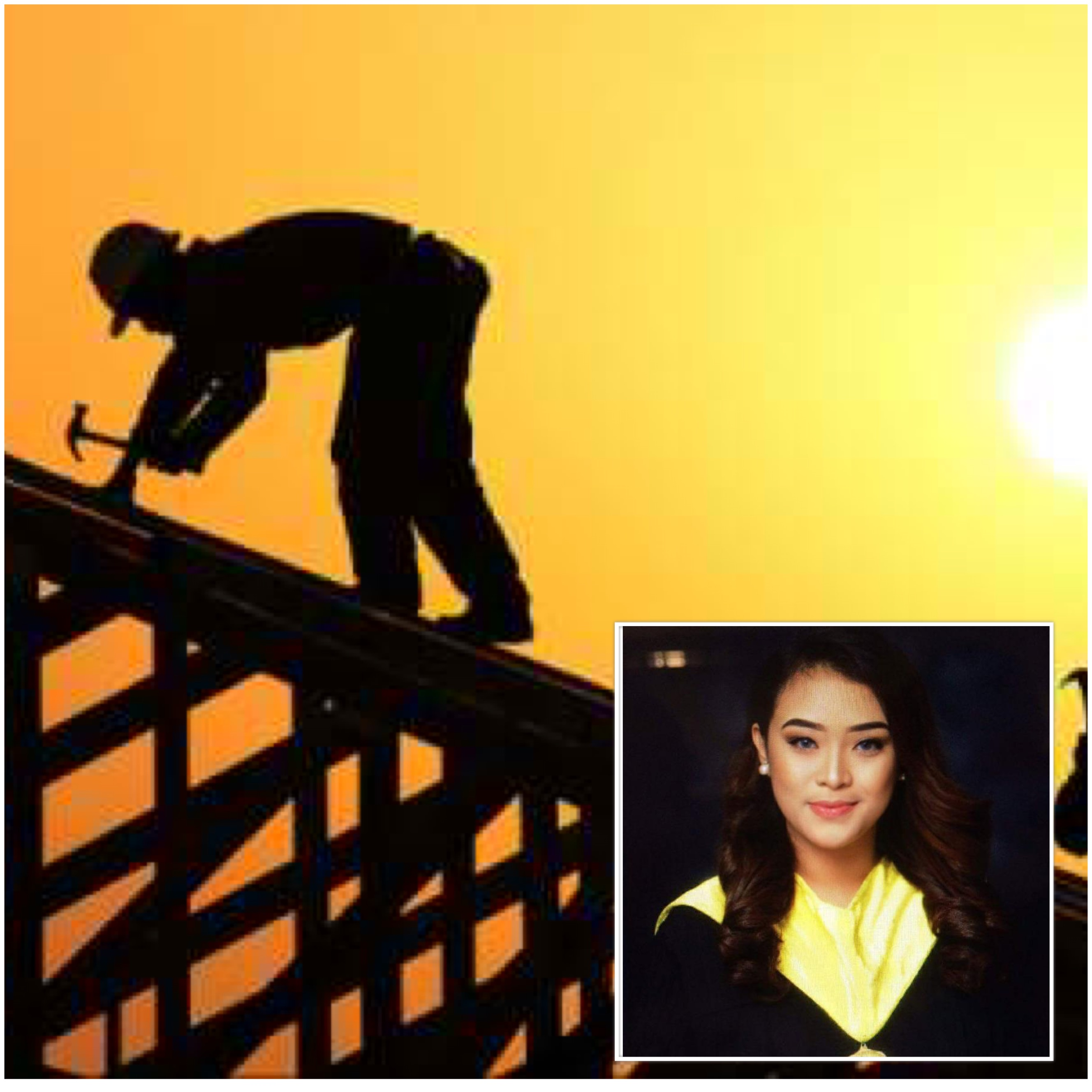 Daughter of construction worker graduates as full scholar, inspires netizens