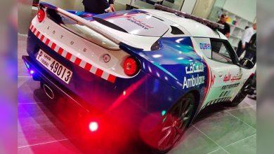 Photo of Dubai gets world's fastest ambulance