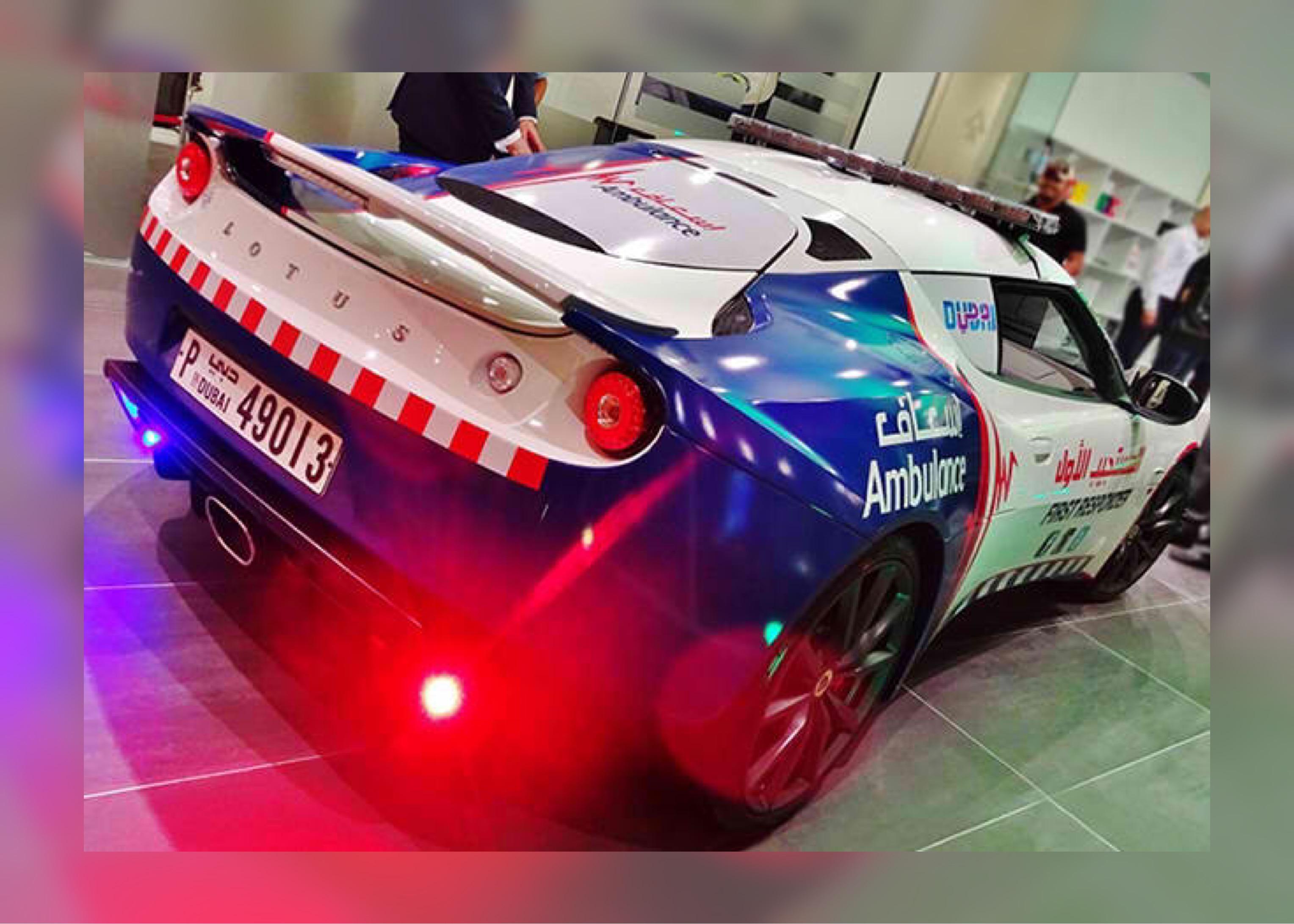 Dubai gets world's fastest ambulance