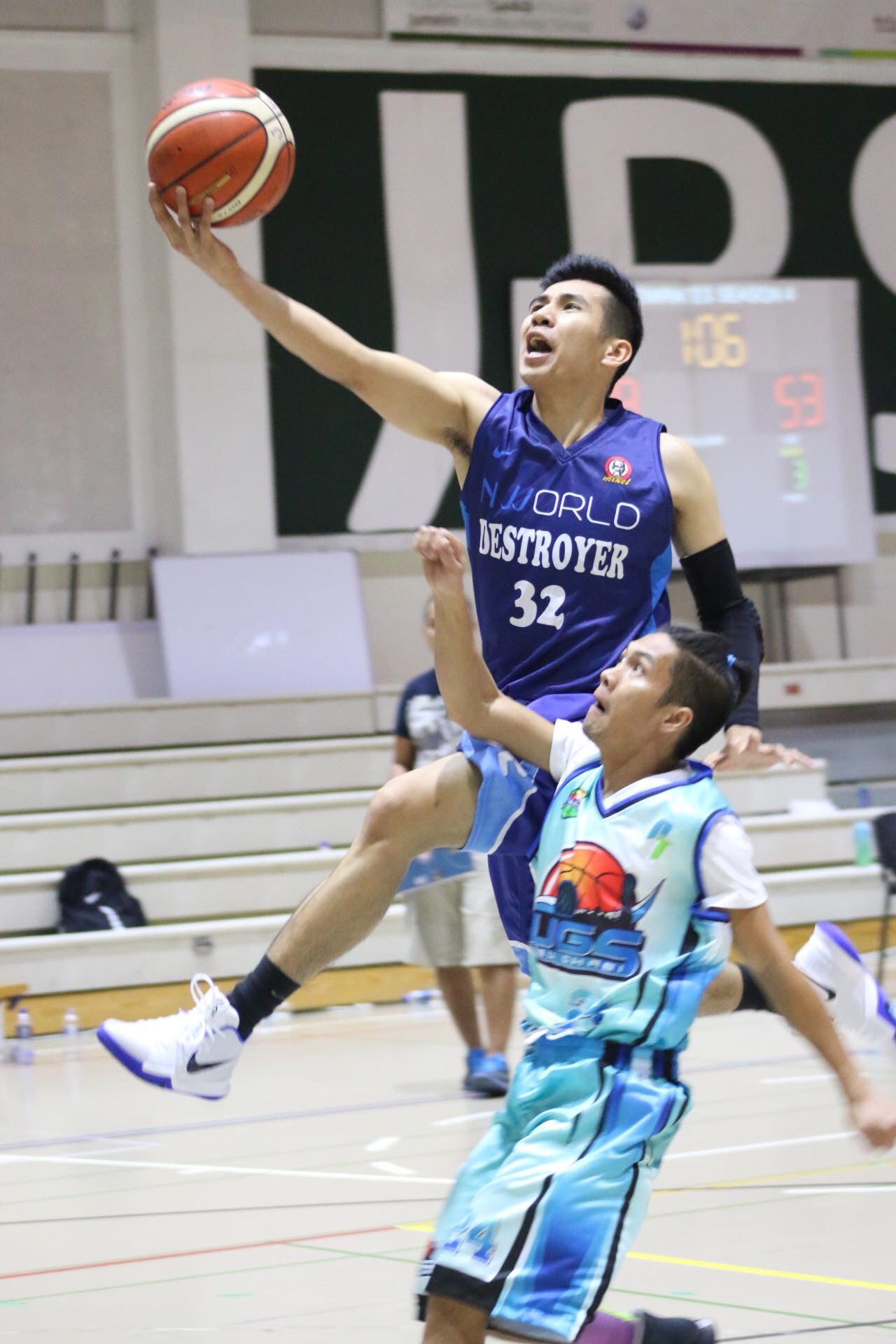 Destroyers destroy UGS, 78-68