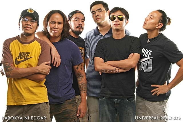 Parokya ni Edgar to headline 'Tagfest' on May 12 at DWTC