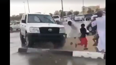 Photo of Shocking video of a reckless driver in Al Shamkha goes viral