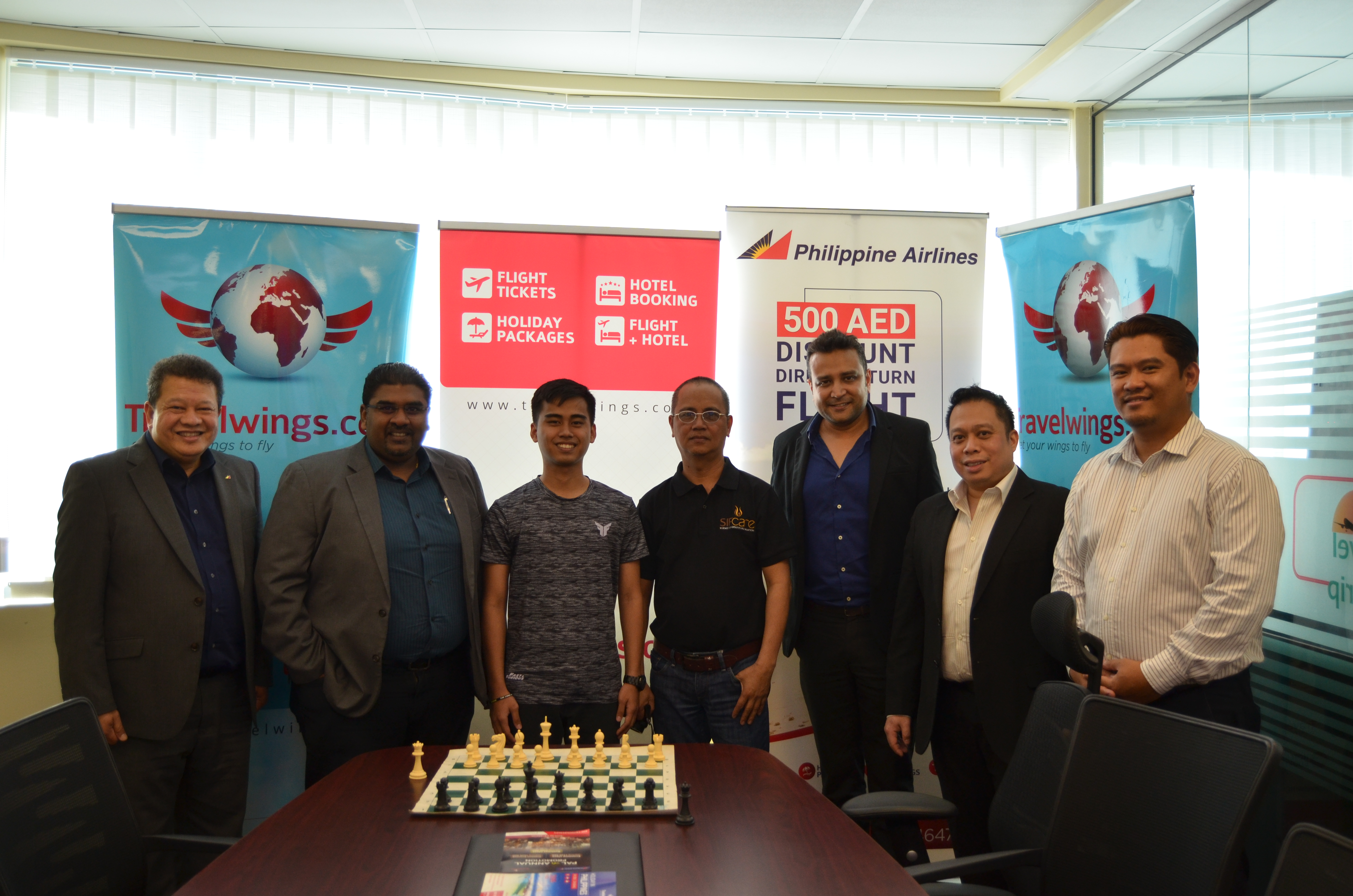 PH grandmaster-elect back in UAE for a 9-day tourney