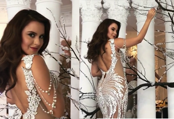 Miss Earth 2016 finally gets to wear coronation night gown