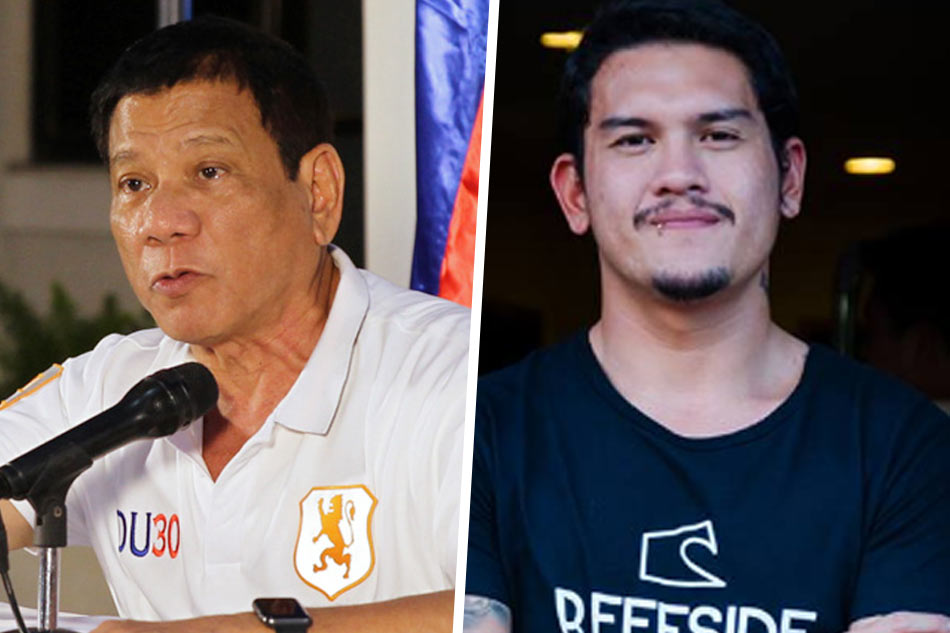 Digong calls out son's Baste's lifestyle, suggests to go to PMA