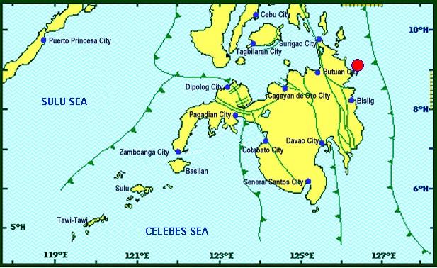 Surigao del Sur hit by 5.1-magnitude quake