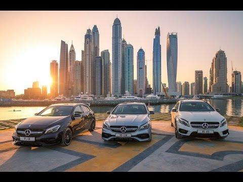 Luxury car brand Mercedez Benz shines spotlight on Dubai