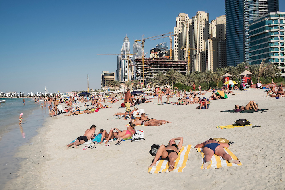 Cover your bikinis, visitors in two new Dubai beaches told ...