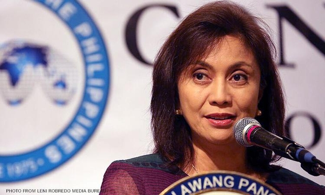 Robredo says Duterte should deal with 'uncooperative' agencies in drug war