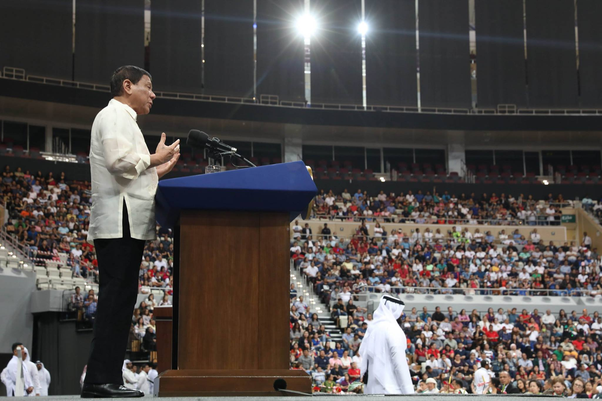 Duterte on the Middle East:  'There is so much at stake here'