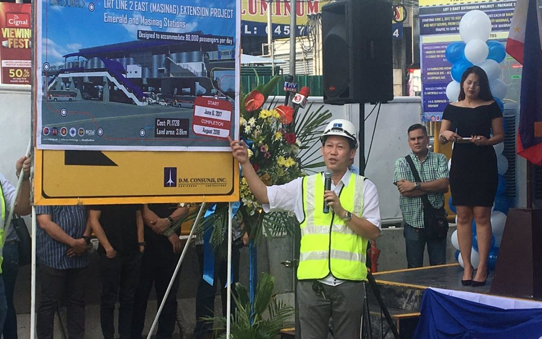 LRT2's Masinag and Emerald stations coming in 2018