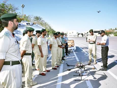 World's first remote bomb defusal drone debuts in Dubai