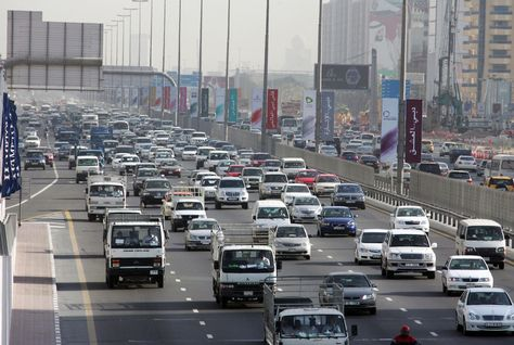Expect heavy traffic on these Dubai roads