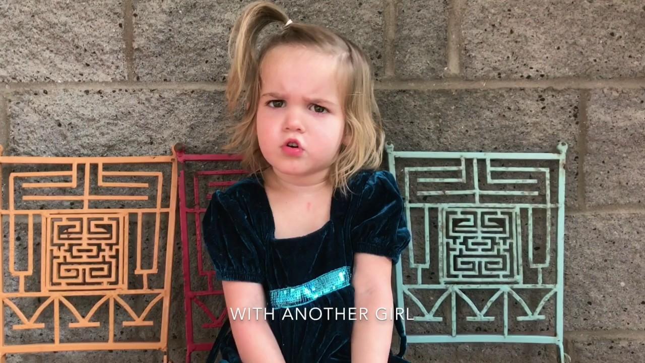 Adorable little diva breaks up with 'boyfriend'