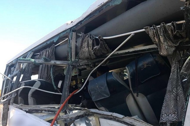 Seven dead, 35 injured in Dubai bus accident