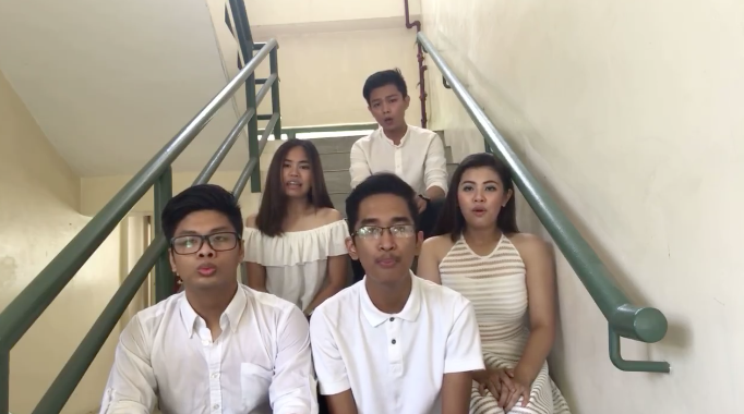 Filipino students enchant netizens with their version of 'How Far I'll Go'