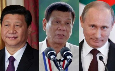 """Duterte wants deals with Russia and China, US just """"double talk"""""""