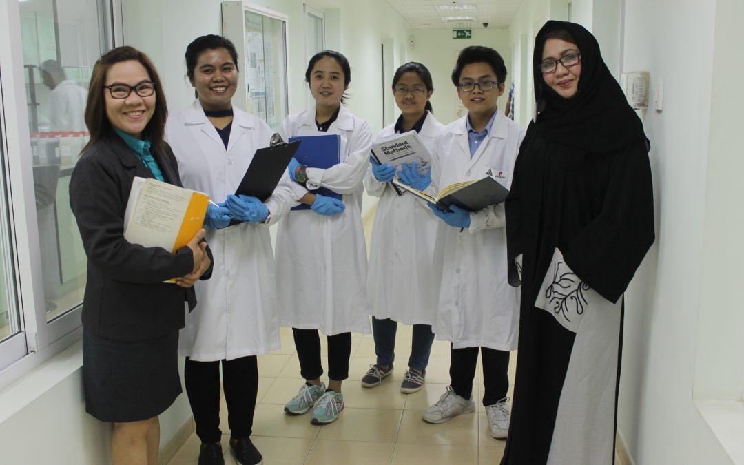 Adamson U engineering students take up internship in UAE