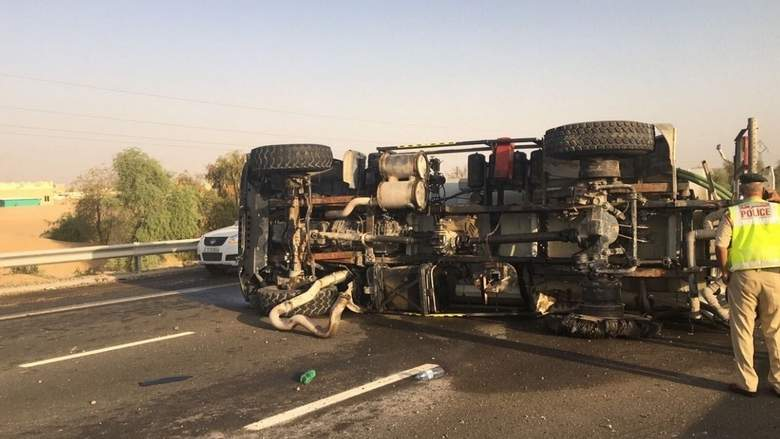 Asian driver dies in Dubai accident