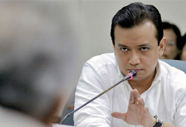 Trillanes responds to Duterte's statement that will be shot 'someday' for his arrogance